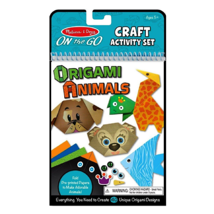 Melissa & Doug On the Go Origami Animals Craft Activity Set